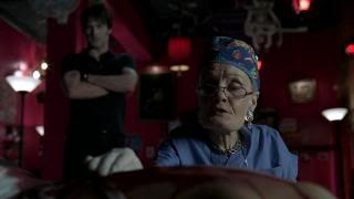 Dr. Ludwig....Vampire Fan she is not!